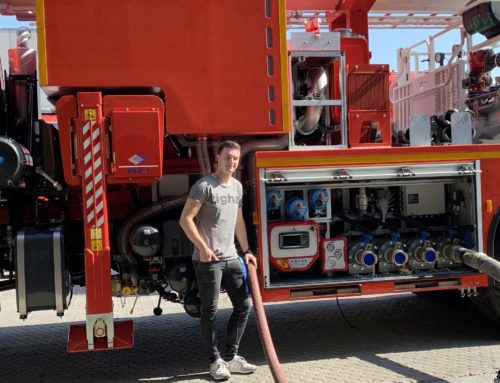 "Felix Unger goes ""firefighting"""