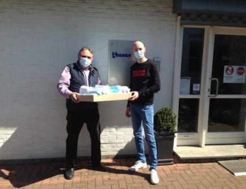 thenex GmbH Bocholt donates protective masks for the 'Friendensdorf' (Peace Village)